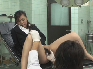 Hospital bondage play with Japanese patient