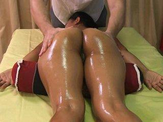 Sexy Nanai gets more than a massage